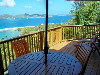 Amazing views from Calabash Cottages!