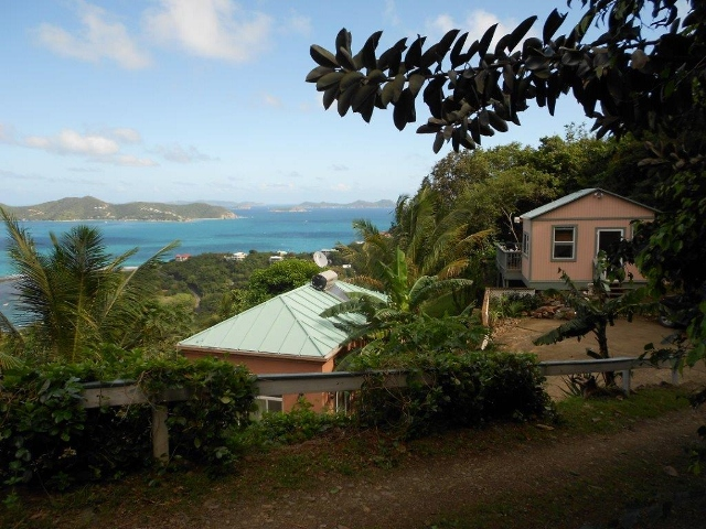 Spectacular down island views!