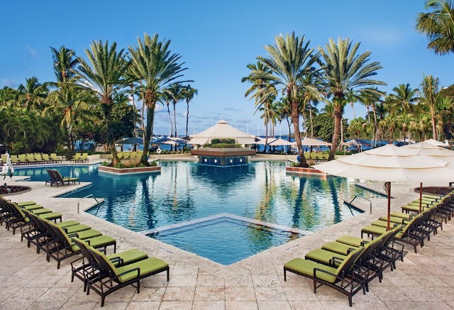 Main pool at Westin Resort St. John