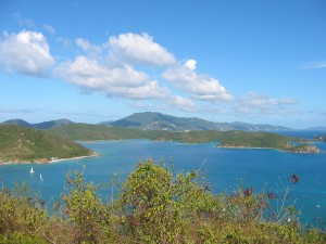 View from 24A Freemans Ground: East End of St. John and The British Virgin Islands