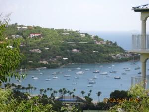Beautiful view of Great Cruz Bay