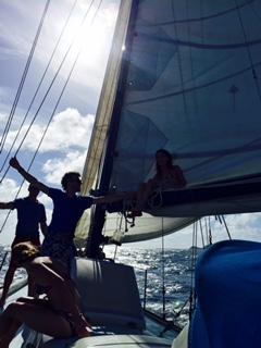 Sailing on Captain Clark's Boat